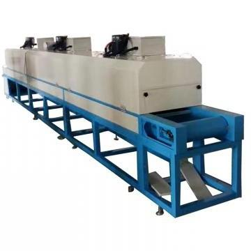 Industrial Tunnel Microwave Drying Lily Flower Dryer Machine