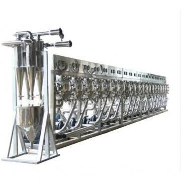 Tapioca Cassava Potato Tubers Milling Flour Grinder Starch Sorting Refining Machine