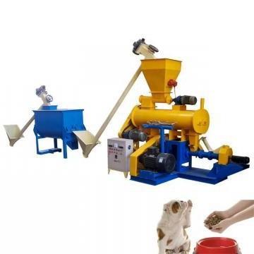 Twin Screw Extruder Machine for Pet Cat Bird Fish Fox Monkey Food Dog Treat