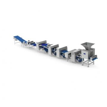 Fried Pizza Beef Rolls Bugle Chips Snacks Production Processing Line