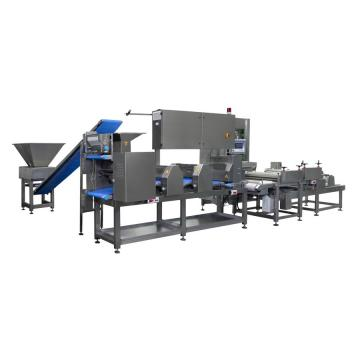 Uim-Automatic Pizza Forming Production Line/ Scatter Tomatoes and Cheese