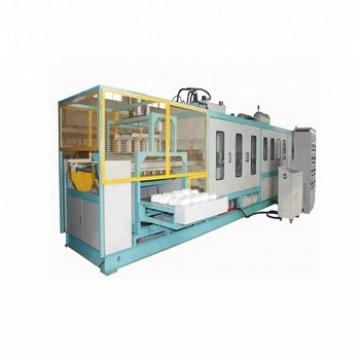 Disposable Foam Take Away Clamshell White Food Box Production Line
