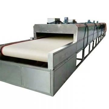 Industrial Tunnel Type Microwave Oven Okra Flower Dryer Machine