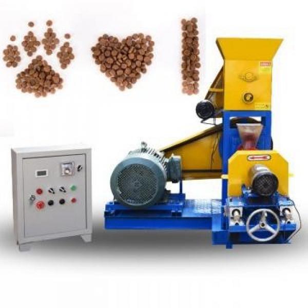 Customized Stainless Steel Dry Dog Food Pellet Making Machine Dry Pet Dog Food Extruder Pet Dog Food Machine #1 image
