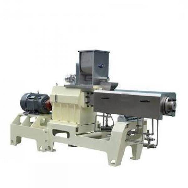 Customized Stainless Steel Dry Dog Food Pellet Making Machine Dry Pet Dog Food Extruder Pet Dog Food Machine #2 image