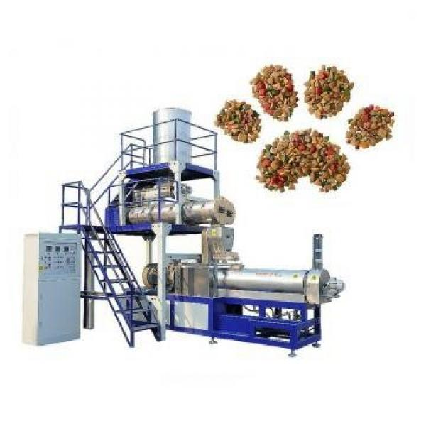 Customized Stainless Steel Dry Dog Food Pellet Making Machine Dry Pet Dog Food Extruder Pet Dog Food Machine #3 image