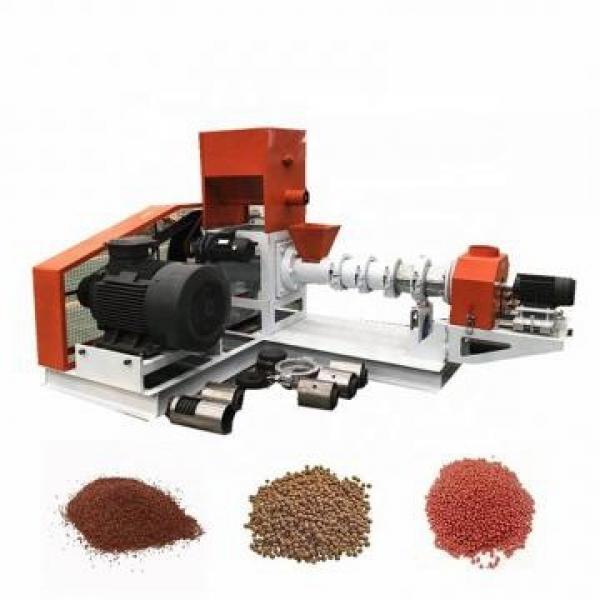 Floating Fish Cattle Chicken Pig Dog Food Animal Feed Extruder Pellet Making Machine #2 image