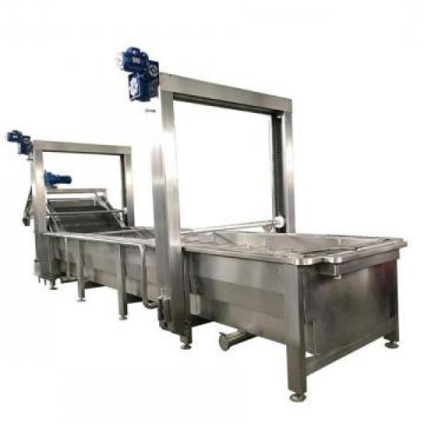 Tunnel Microwave Frozen Food Thawing Machine for Shrimp #1 image
