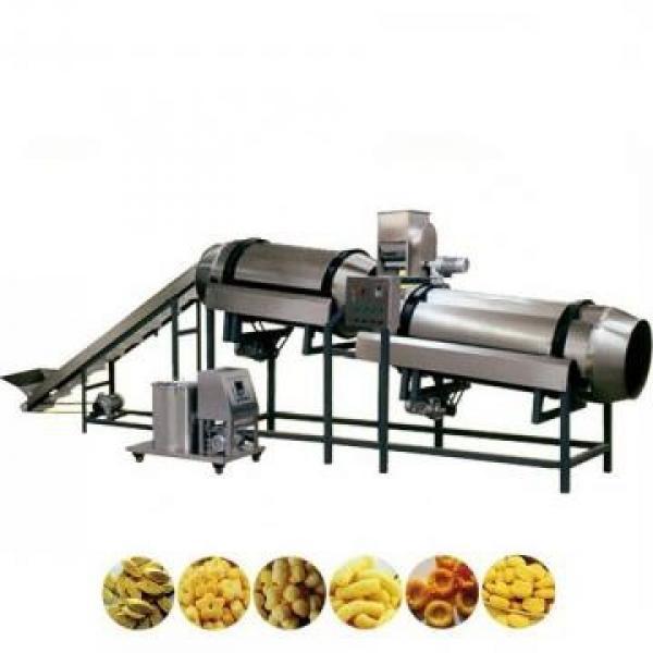 Semi Auto Air Flow Pop Rice Snack Rice Puffed Making Machine #2 image