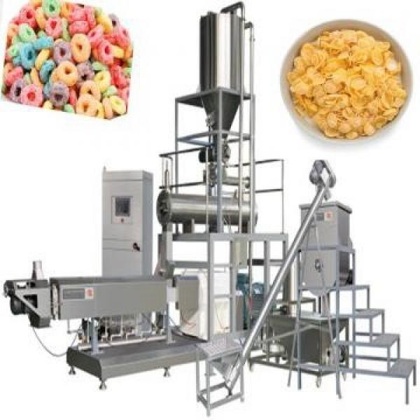 Hot Air Flow Corn Puffed Wheat Making Machine Rice Cereal Puffing Machine #2 image