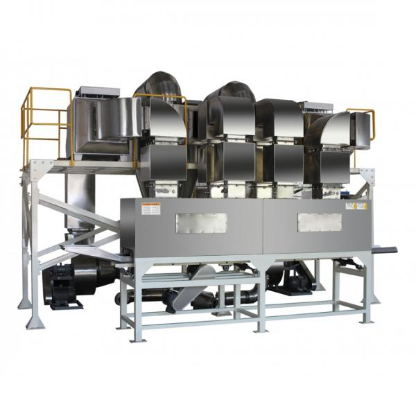 Hot Air Flow Corn Puffed Wheat Making Machine Rice Cereal Puffing Machine #1 image