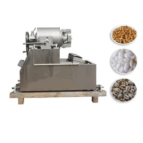 Automatic Stainless Steel Cereal Puffing Machine #3 image
