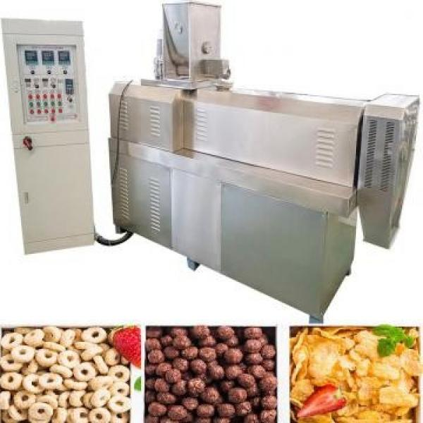 Automatic Rice Corn Sticks Coco Pops Fruit Loops Rings Chips Cheese Balls Puff Snacks Extrusion Food Making Machine #1 image