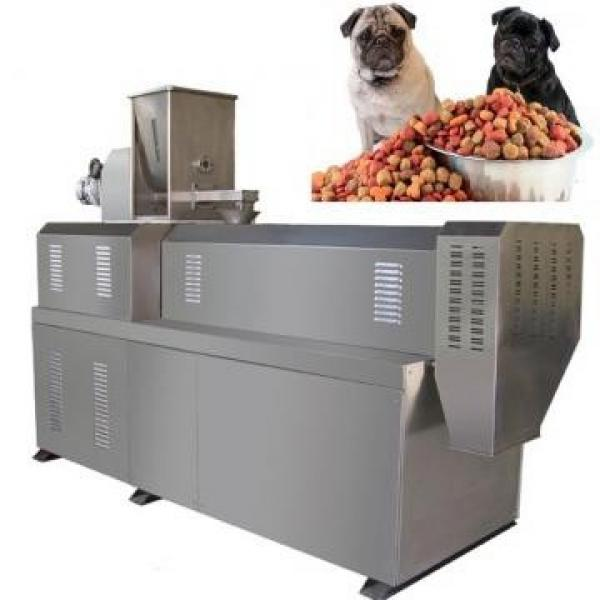 Fully Automatic Single Screw Dry Pet Dog Food Snack Pellet Equipment #2 image