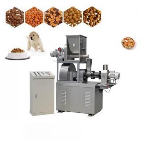 Fully Automatic Single Screw Dry Pet Dog Food Snack Pellet Equipment #1 image