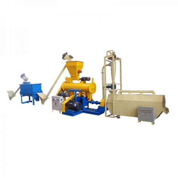 China Manufacturer Floating Fish Feed Pelletizing Production Line with Good Quality #1 image