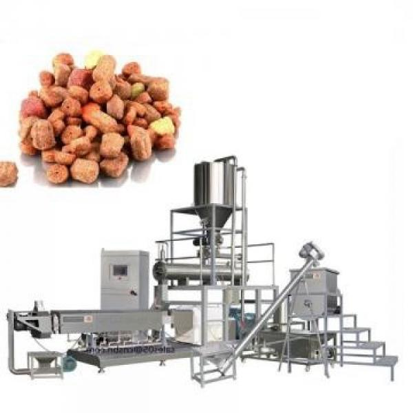 100-3000kg/Hr Industrial Automatic Wet Dry Animal Pet Dog Cat Food Extruder Fish Feed Making Machine Production Line Processing Maker Plant #3 image