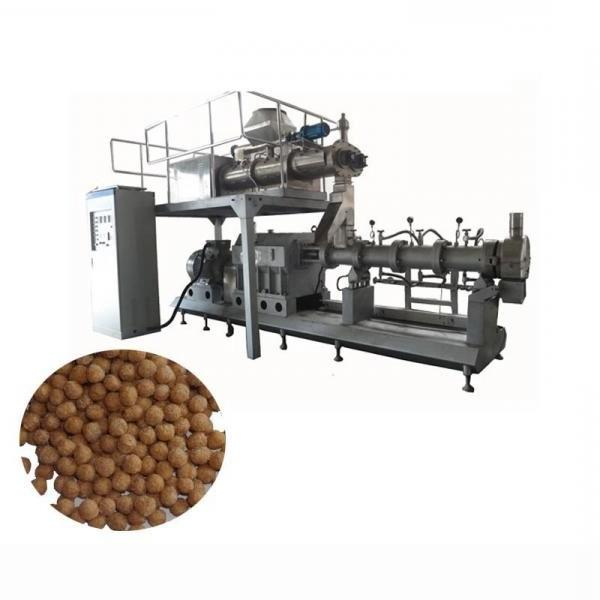 Professional Automatic Dry Dog Cat Fish Pet Animal Feed Pellet Extruder Extrusion Equipment Lant Processing Making Machine #1 image