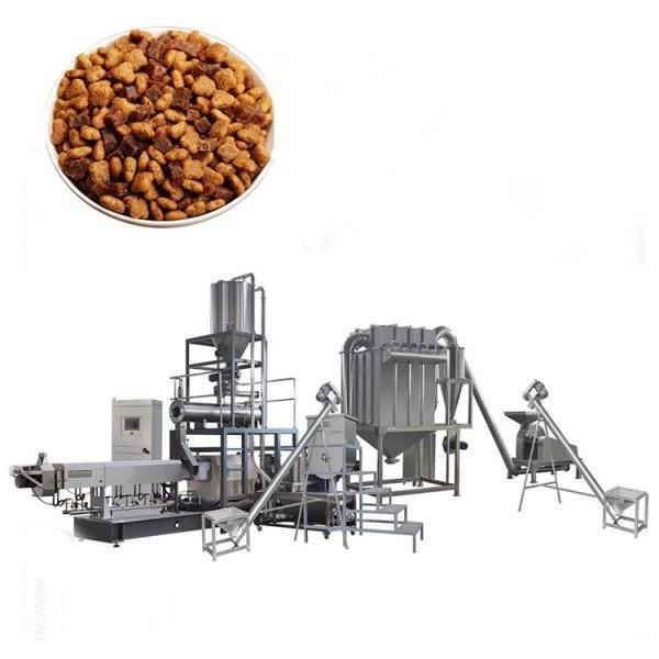 large capacity fully automatic dry wet animal dog food pellet feed manufacturing machine #2 image
