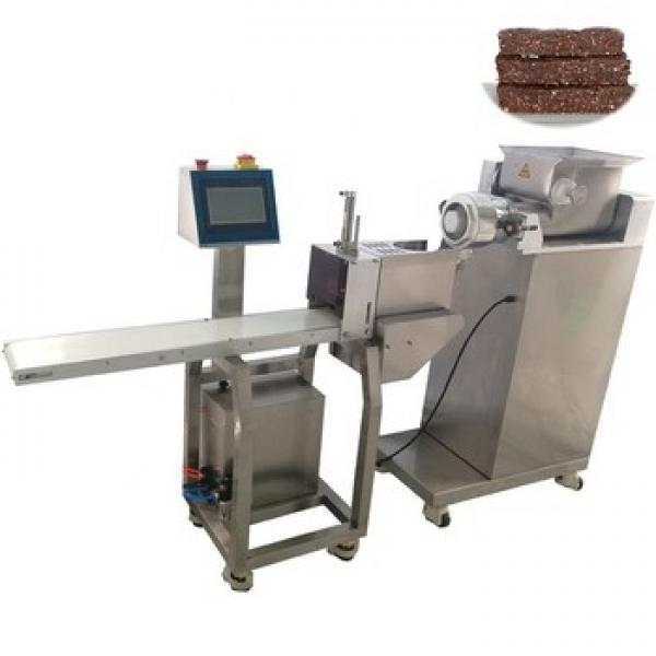 Protein Energy Chocolate Bar Extruding and Cutting Making Machine #3 image